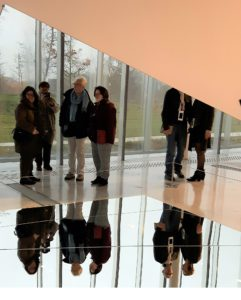 jeux de reflets dans des miroirs