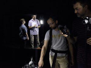 Préparation d'un futur tournage