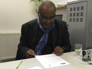 Ce jeudi 27 avril Down Up et France terre d'asile ont signé une convention de partenariat.
