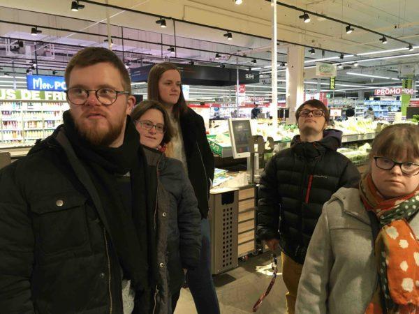 Etal de fruits & légumes Auchan 1