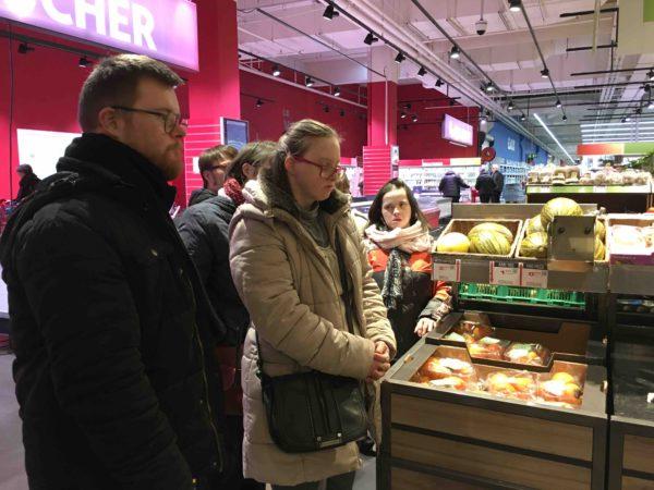 Etal de fruits & légumes Auchan 11