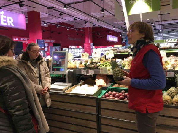 Etal de fruits & légumes Auchan 12