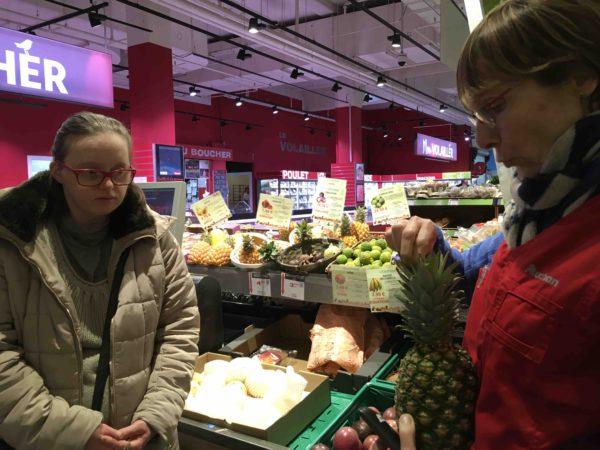 Etal de fruits & légumes Auchan 14