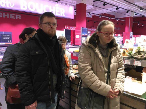 Etal de fruits & légumes Auchan 15