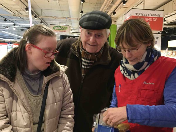 Etal de fruits & légumes Auchan 17