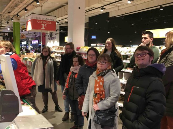 Etal de fruits & légumes Auchan 18