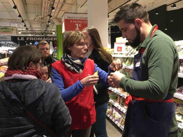 Etal de fruits & légumes Auchan 19