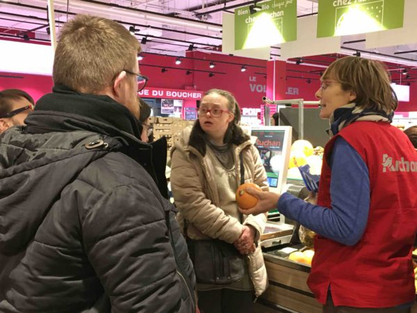 Etal de fruits & légumes Auchan 25