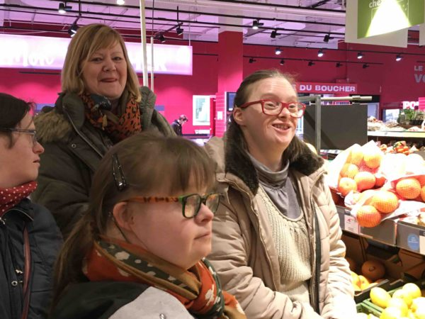 Etal de fruits & légumes Auchan 26