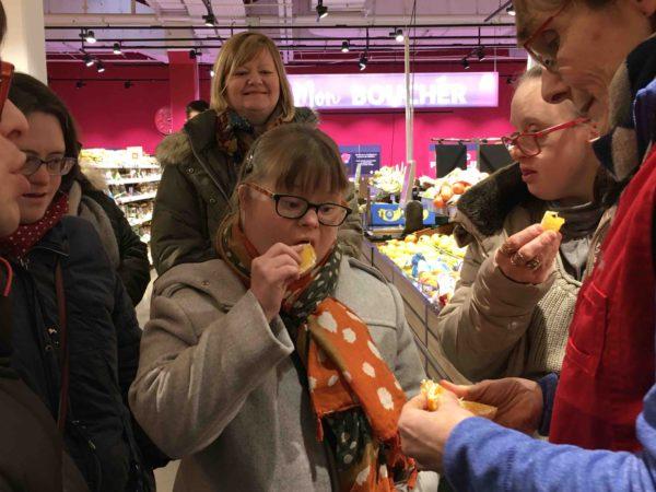 Etal de fruits & légumes Auchan 28