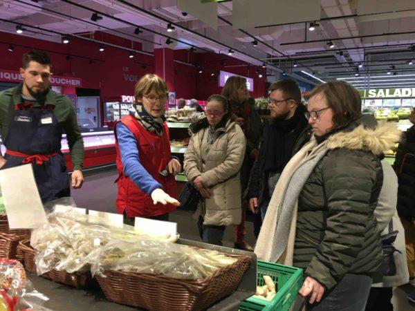 Etal de fruits & légumes Auchan 3