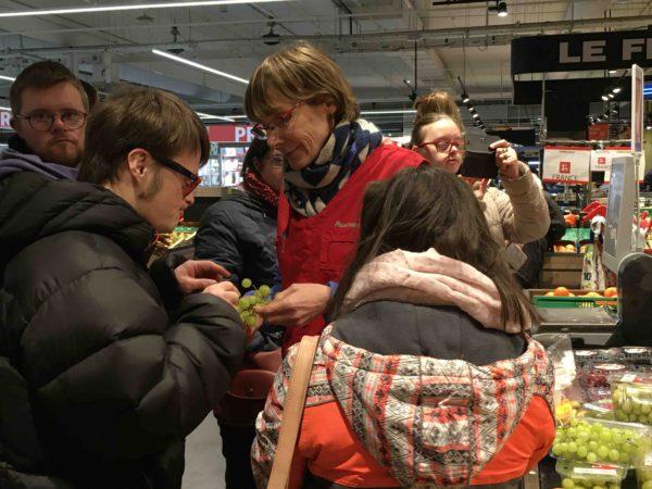 Etal de fruits & légumes Auchan 32