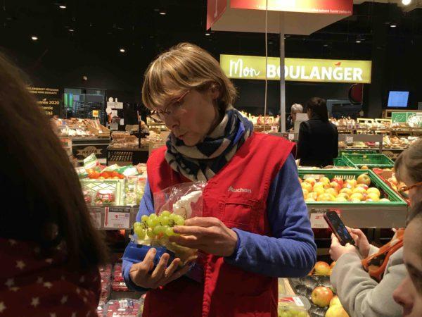 Etal de fruits & légumes Auchan 36