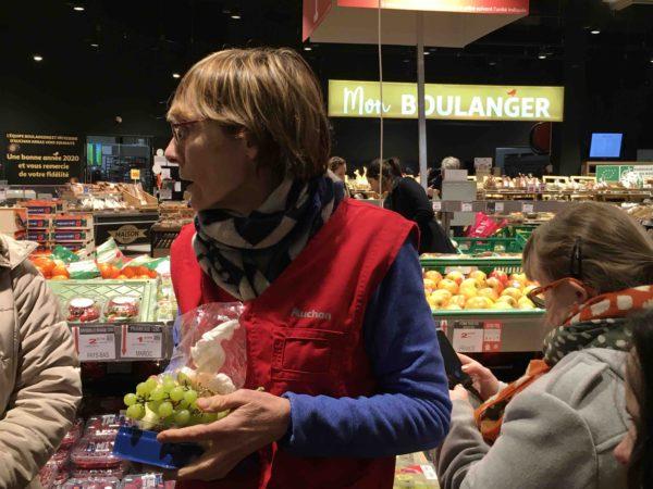 Etal de fruits & légumes Auchan 37