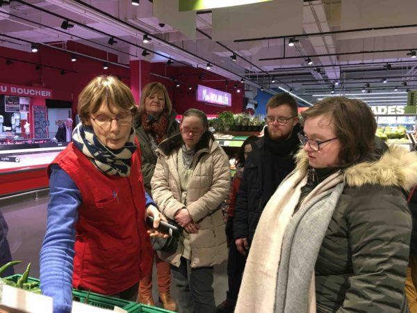 Etal de fruits & légumes Auchan 4