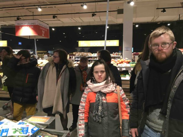 Etal de fruits & légumes Auchan 48