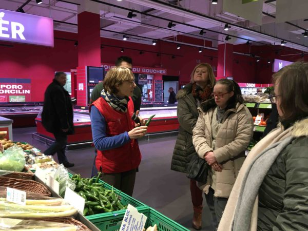 Etal de fruits & légumes Auchan 5