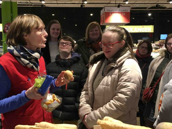 Etal de fruits & légumes Auchan 52