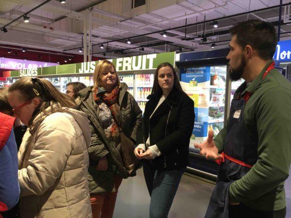Etal de fruits & légumes Auchan 58