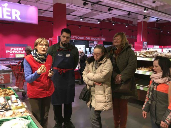 Etal de fruits & légumes Auchan 6